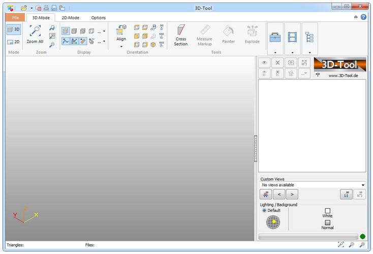 3D-Tool Free Viewer图片