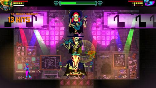 墨西哥英雄大混战超级漩涡冠军版游戏截图1