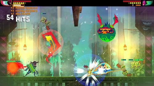 墨西哥英雄大混战超级漩涡冠军版游戏截图4