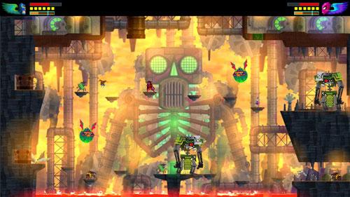 墨西哥英雄大混战超级漩涡冠军版游戏截图3