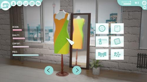 《时尚设计师》游戏截图1