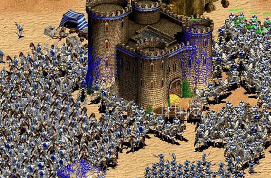 帝国时代2征服者图