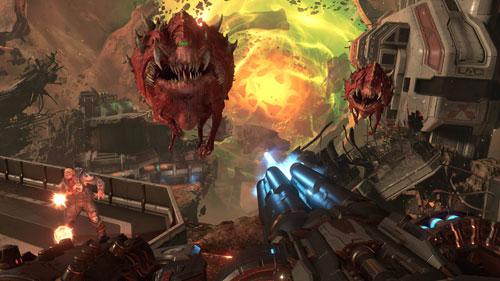 《毁灭战士:永恒》游戏截图5