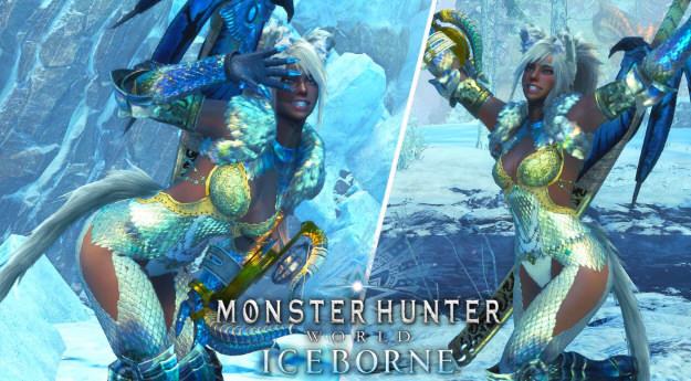 怪物猎人世界冰原猫咪少女MOD截图0