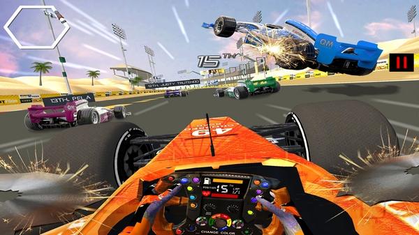 方程式赛车模拟器截图0
