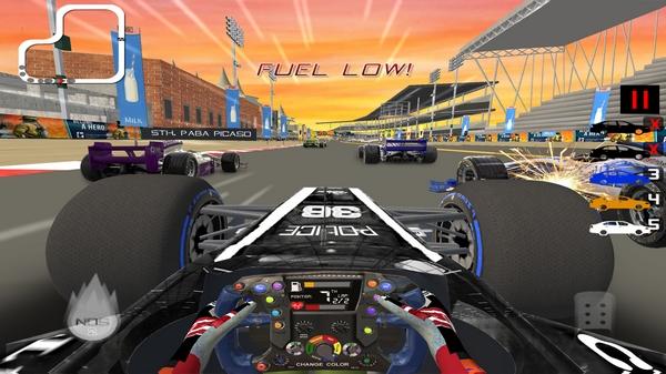方程式赛车模拟器截图1