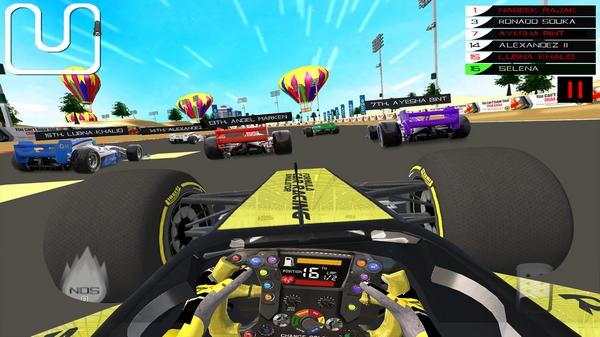 方程式赛车模拟器截图2