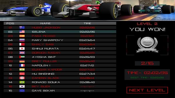 方程式赛车模拟器截图3