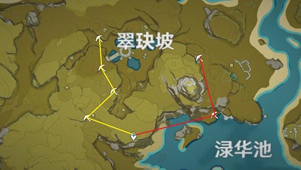 原神挖矿路线图