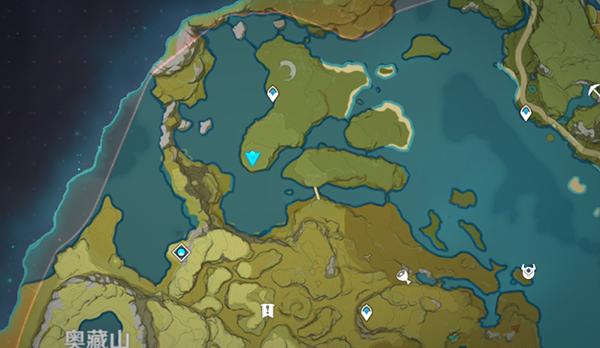 原神璃月地灵龛位置1
