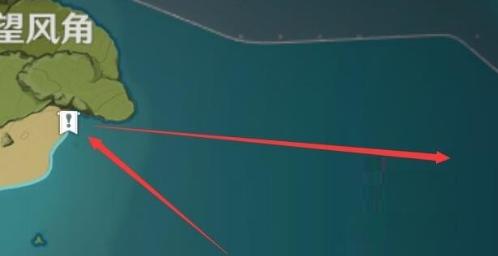 原神日冕任务小岛图