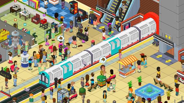通勤地铁战游戏截图