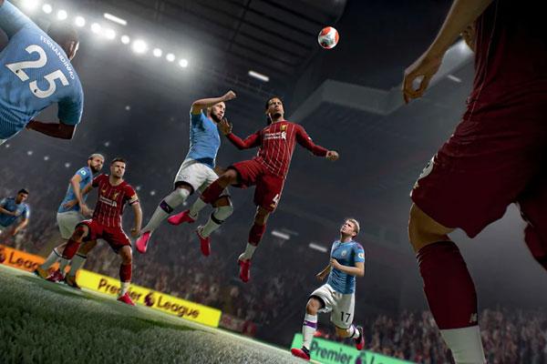 FIFA21游戏截图