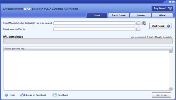 DataNumen BKF Repair软件图片1