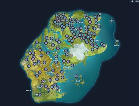 原神全资源点位地图工具截图0