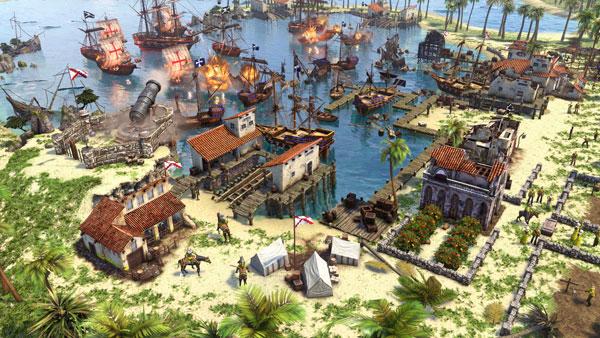 帝国时代3决定版游戏截图