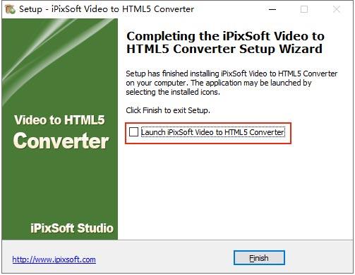 ipixsoft video to html5 converter截图