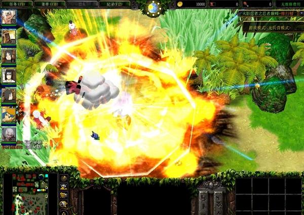 魔兽争霸3火影忍者之巅峰对决截图1