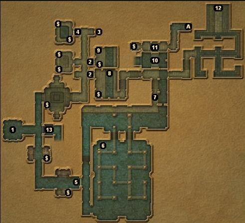 龙与地下城地下城主地图图片1