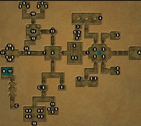 龙与地下城地下城主地图图片11