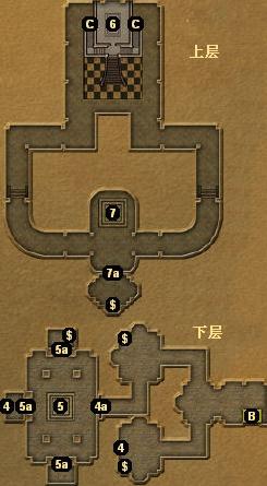 布拉多斯神庙地图2