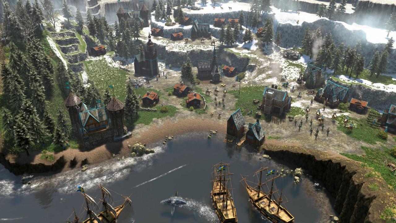 帝国时代3决定版游戏截图2