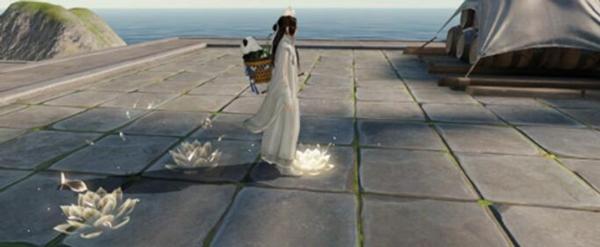 天涯明月刀手游步步生莲图片