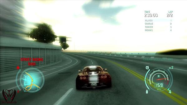 极品飞车12游戏截图