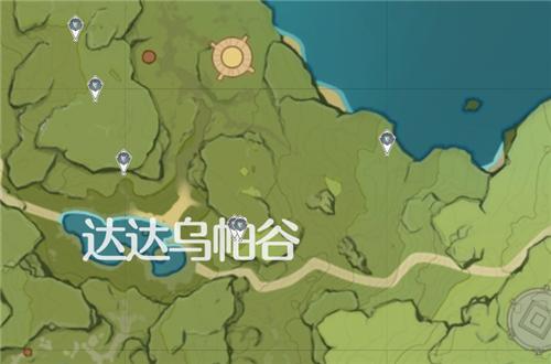 原神晶蝶分布图2