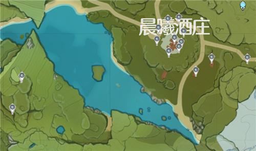 原神晶蝶分布图3