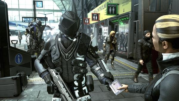 杀出重围人类分裂游戏图片2