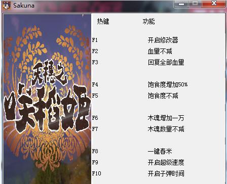 天穗之咲稻姬修改器图片