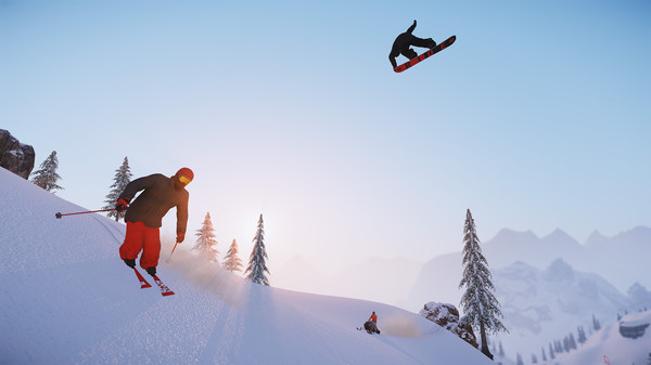 滑雪:终极版截图0