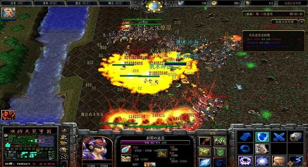 魔兽争霸3决战天灾军团截图2