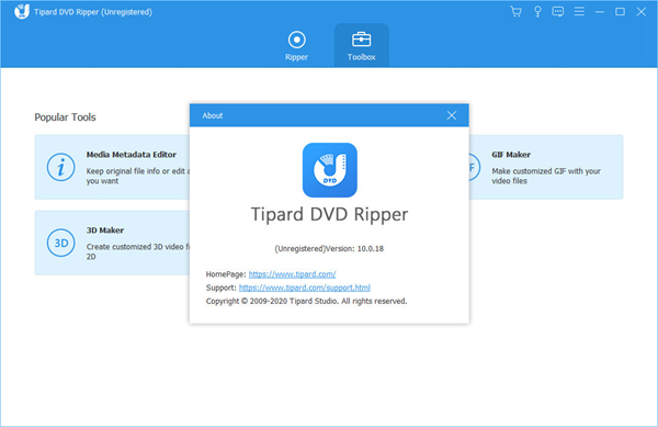 Tipard DVD Ripper图