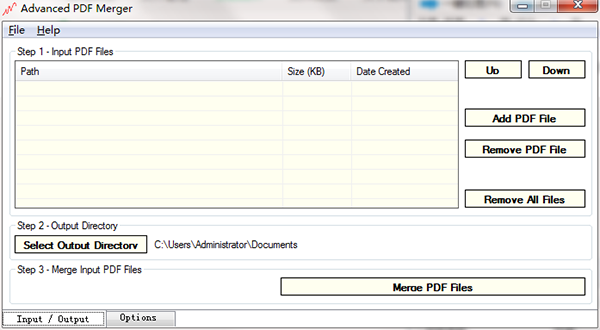 Advanced PDF Merger图片
