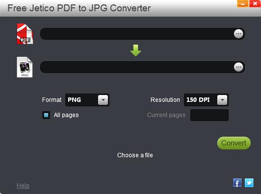 Free Jetico PDF to JPG Converter图片