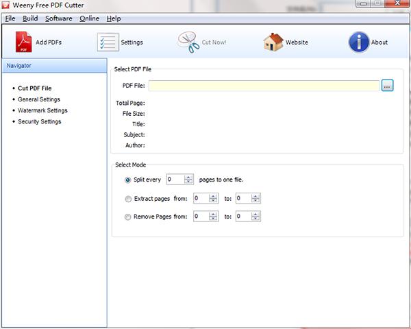 Weeny Free PDF Cutter�D片
