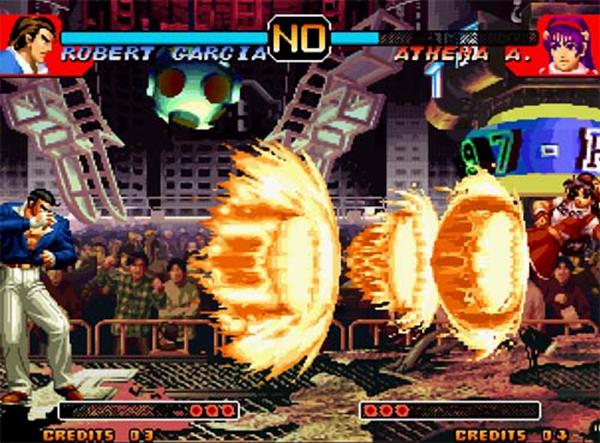 拳皇97无限波游戏截图