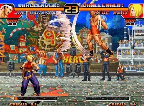 拳皇97浮空版图片
