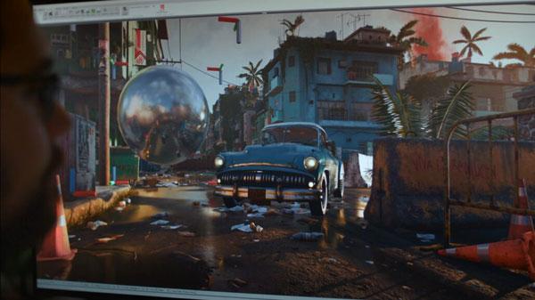 《孤岛惊魂6》游戏截图