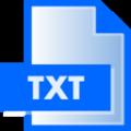 生成txt文件软件 免费版v1.0