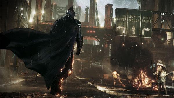 《蝙蝠侠:阿卡姆》游戏截图