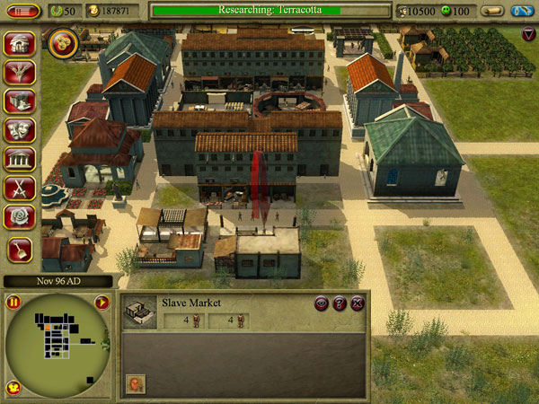 文明城市罗马游戏截图