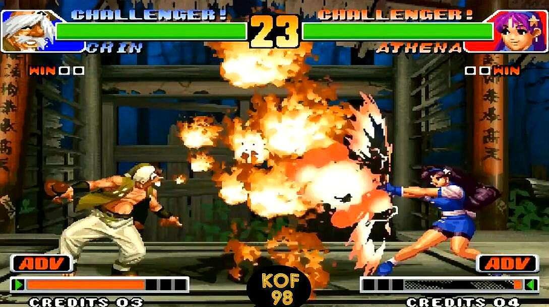 拳皇98游戏截图2