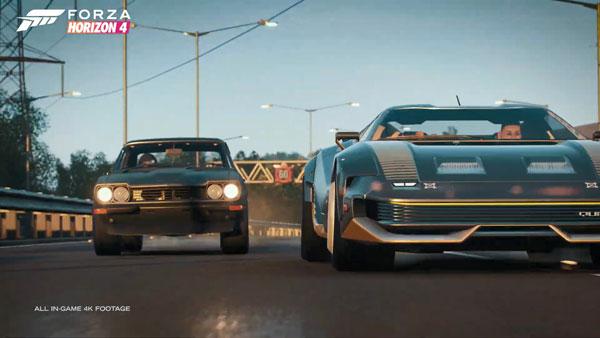 《极限竞速:地平线4》视频截图