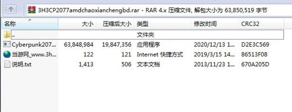 赛博朋克2077AMD超线程补丁截图1