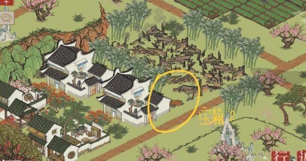 江南百景图桃花坞宝箱位置图