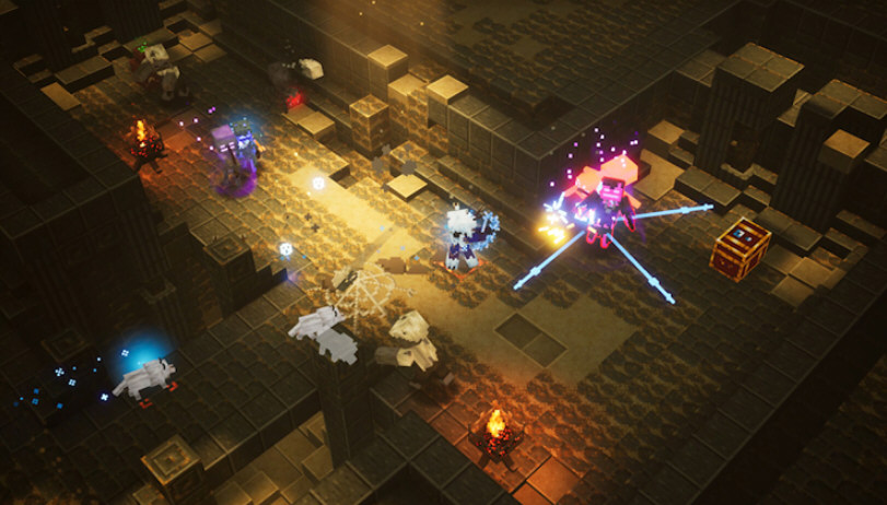 我的世界地下城游戏截图1