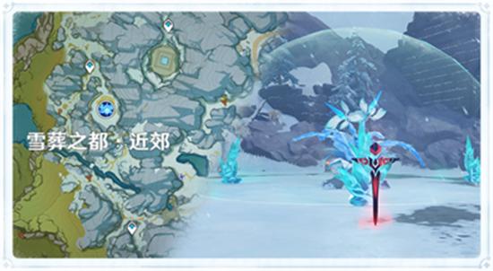 原神霜覆的奇迹之树图